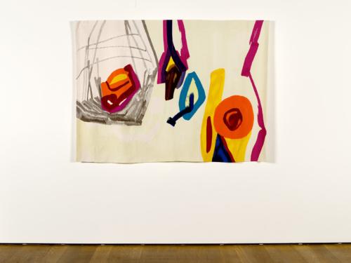 """Etel Adnan, """"Voyageur"""", 1967/2017, Collection Mudam"""
