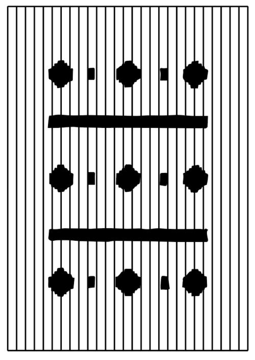 """Suki Seokyeong Kang, """"Mat Black Mat – notation #9"""", 2019, Collection Mudam Luxembourg, Donation 2019 – De l'artiste"""