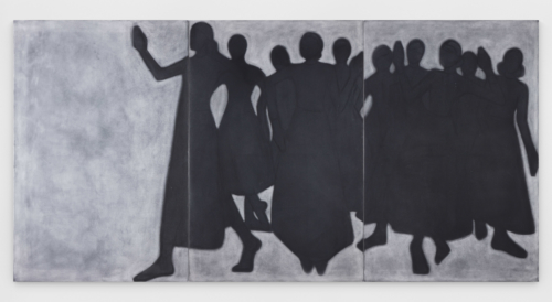 """Silke Otto-Knapp, """"Group (Moving)"""", 2019. Collection Mudam Luxembourg - Musée d'Art Moderne Grand-Duc Jean"""