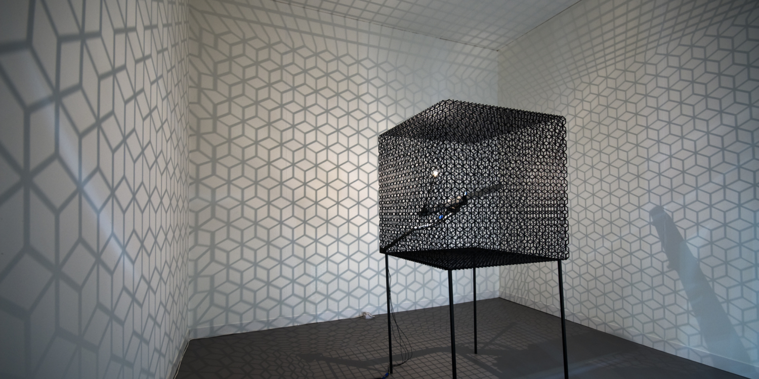 "Conrad Shawcross, ""Slow Arc Inside a Cube IV"", 2009"
