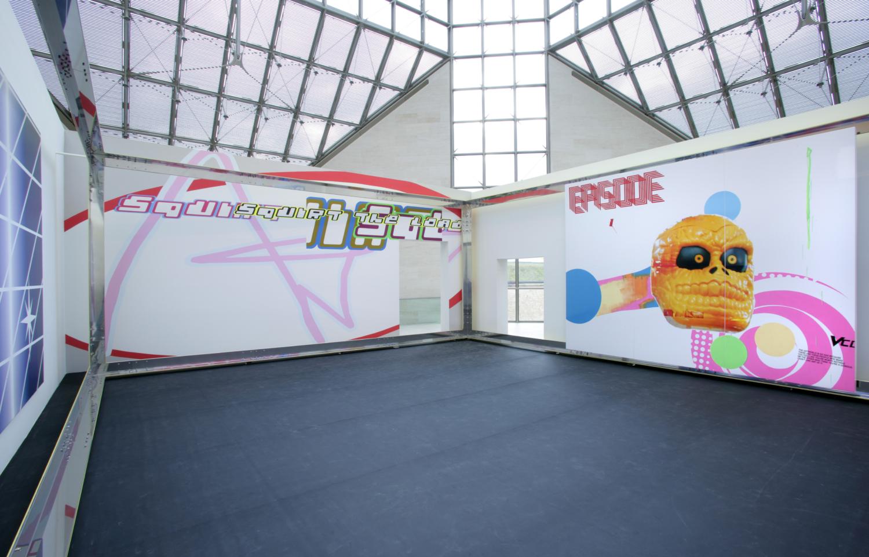 "Exposition ""Michel Majerus"", 09.12.2006 – 07.05.2007, Mudam Luxembourg"