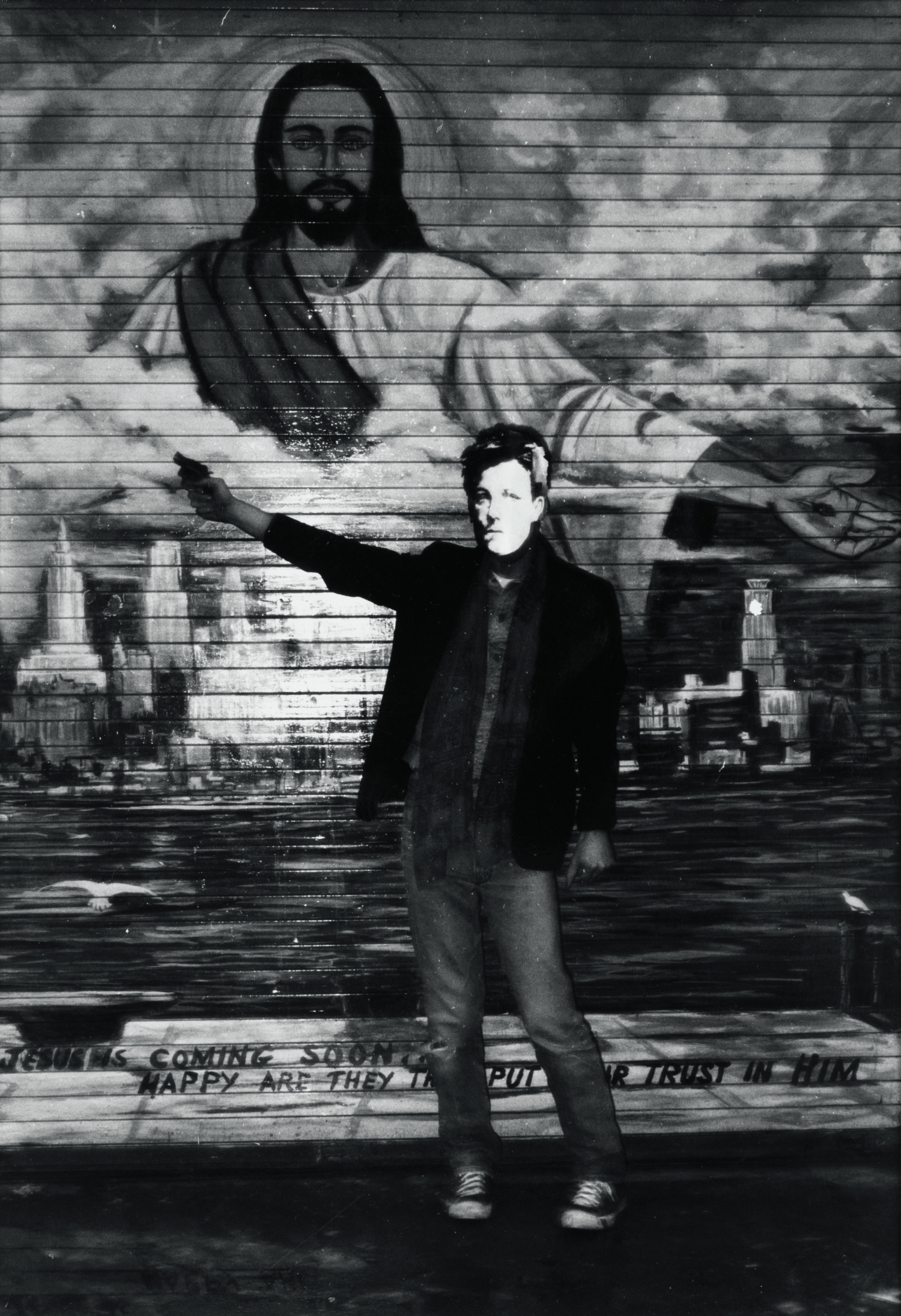 "David Wojnarowicz, ""Arthur Rimbaud in New York"", 1979. Collection of Philip E. Aarons and Shelley Fox Aarons"