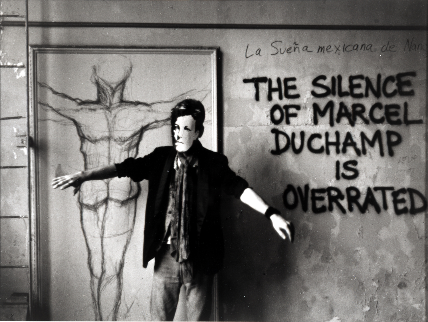 "David Wojnarowicz (1954-1992),  ""Arthur Rimbaud in New York"", 1978–79 (printed 2004). Collection of Philip E. Aarons and Shelley Fox Aarons."