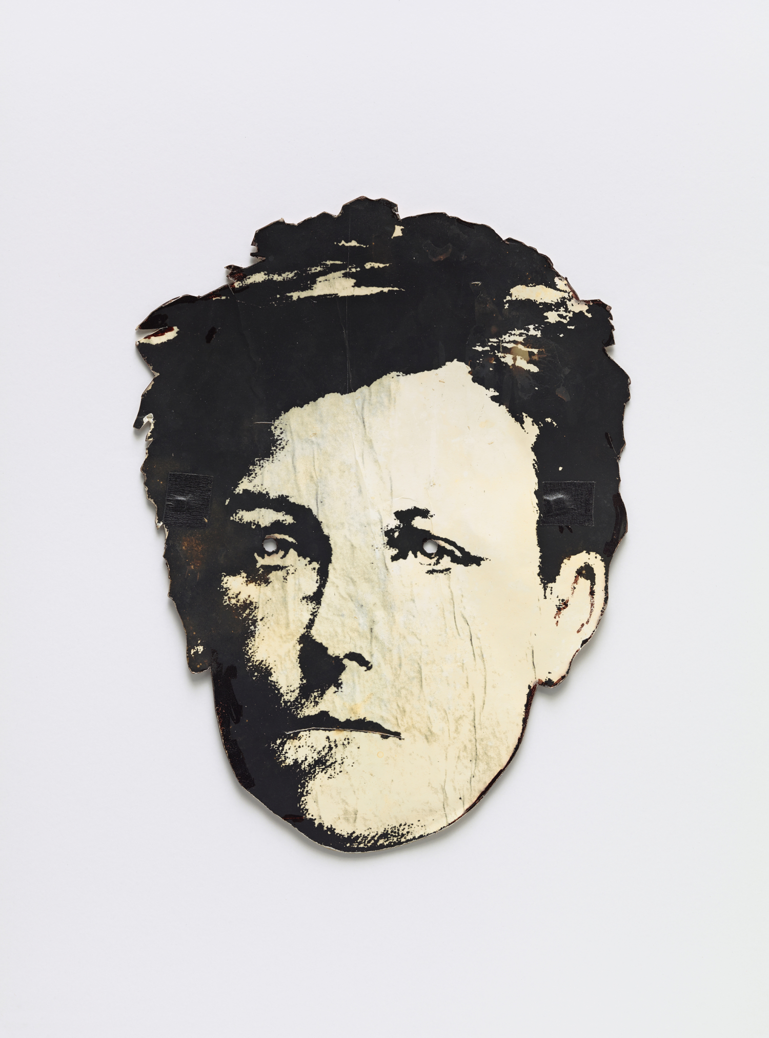"David Wojnarowicz, ""Rimbaud mask"", c. 1978. Courtesy the Fales Library and Special Collections, New York University"
