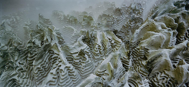 EPFL, École Polytechnique, Alps meteorological model, Lausanne Switzerland, 2001