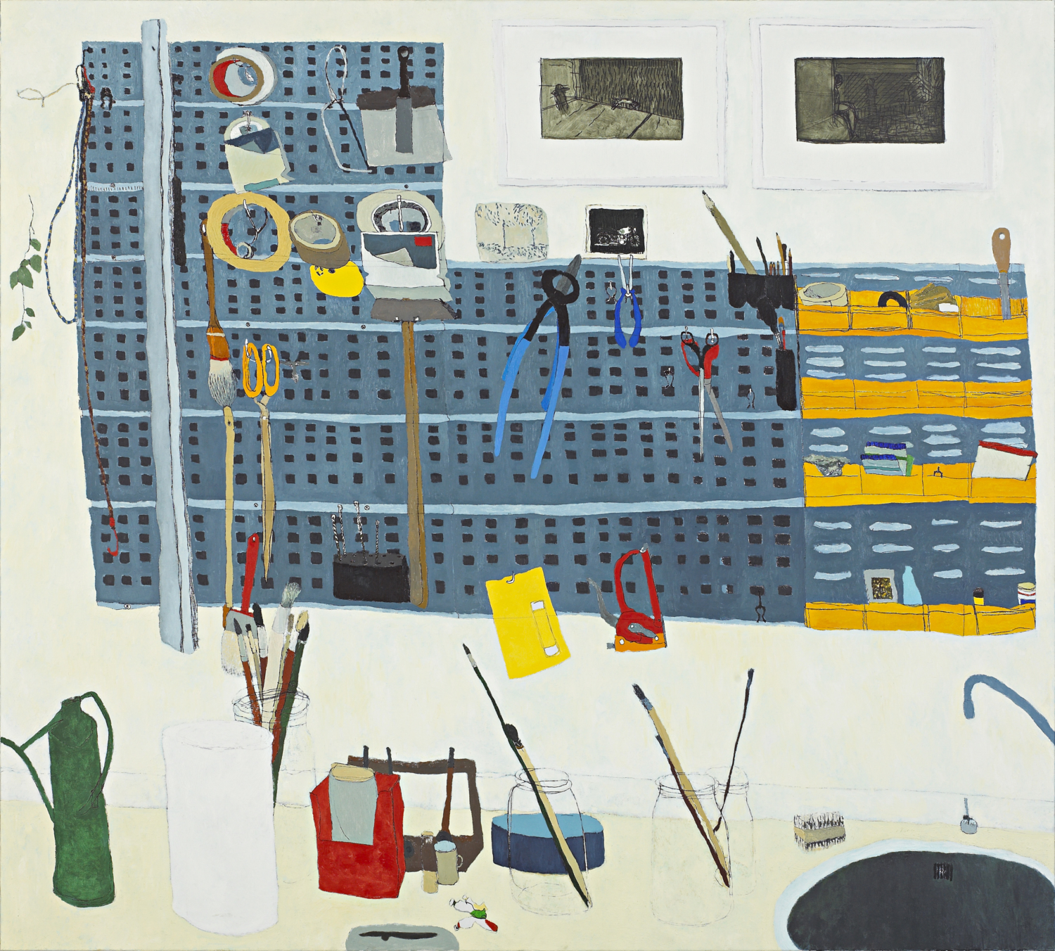 "Jean-Marie Biwer, ""Atelier"", 2004–2005, Collection Mudam Luxembourg, Acquisition 2005"