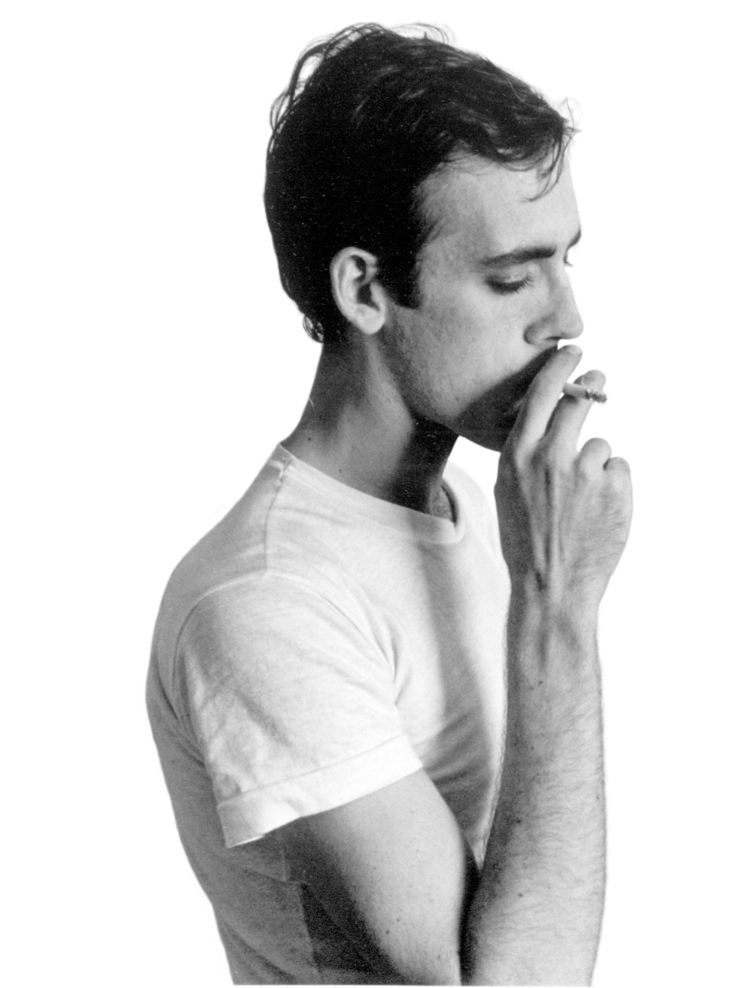 David Wojnarowicz, portrait, NY 1985