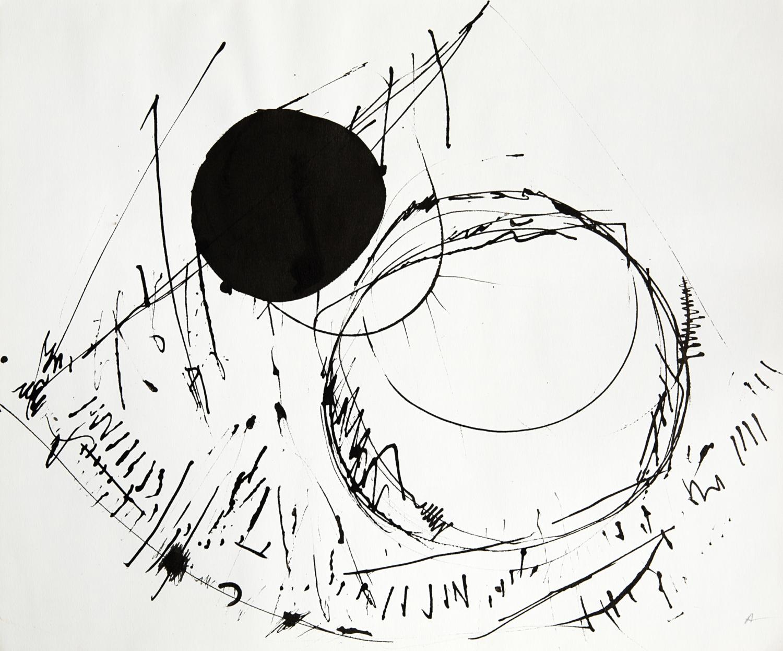 """Etel Adnan, """"Hyper Espace"""", 1964"""