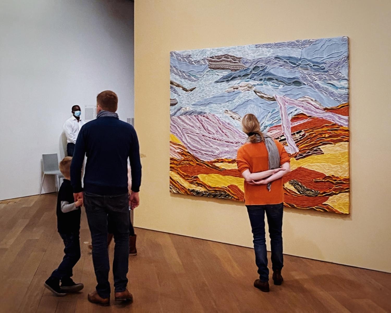 """Vue de l'exposition """"Les 25 ans de la Collection Mudam"""", 21.11.2020 – 03.04.2022, Mudam Luxembourg"""