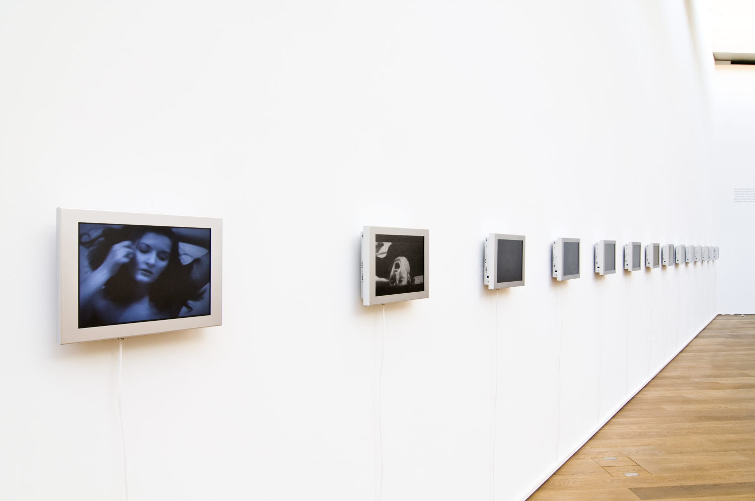 "Marina Abramović, ""Video Portrait Gallery"", 1975-1998 