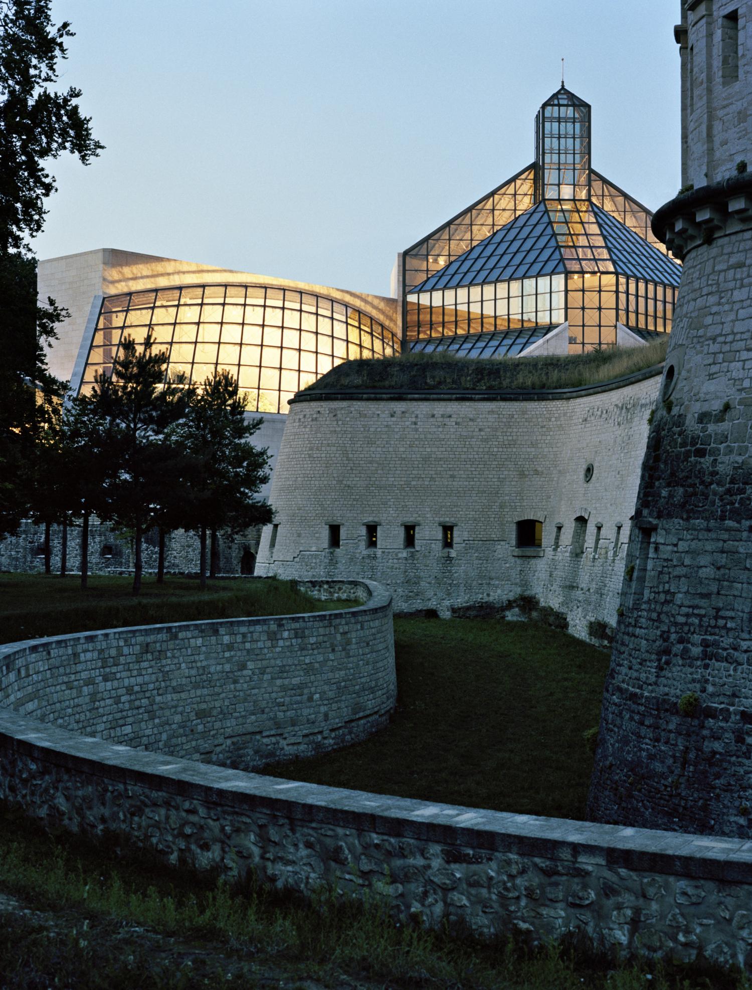 Mudam Luxembourg, I. M. Pei architect design