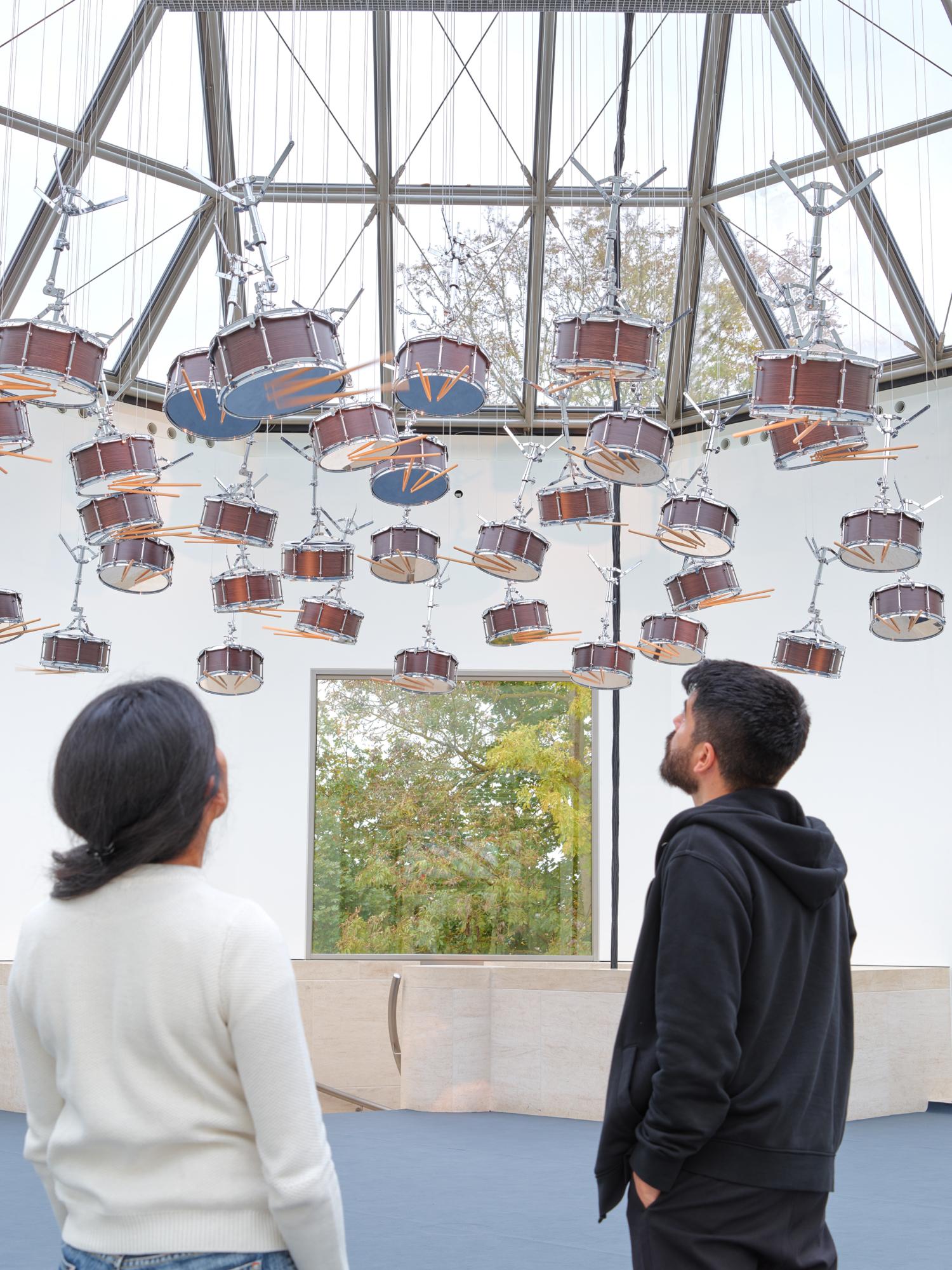 """Vue de l'exposition """"Anri Sala. Le Temps coudé"""", 11.10.2019 – 05.01.2020, Mudam Luxembourg"""