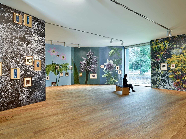 """Vue de l'exposition """"Enfin seules. Photographies de la collection Archive of Modern Conflict"""", 01.05 – 19.09.2021, Mudam Luxembourg"""
