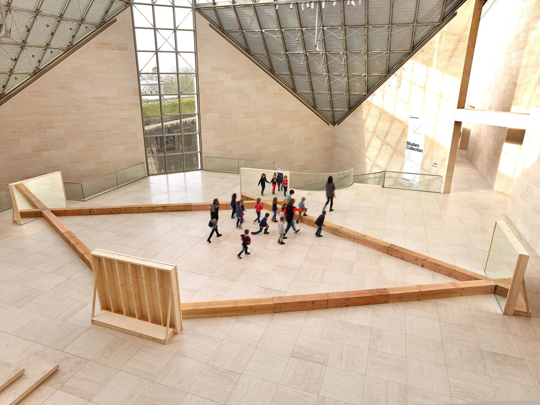 """Vue de l'exposition """"Robert Morris. The Perceiving Body"""", 07.02 – 01.06.2020, Mudam Luxembourg"""