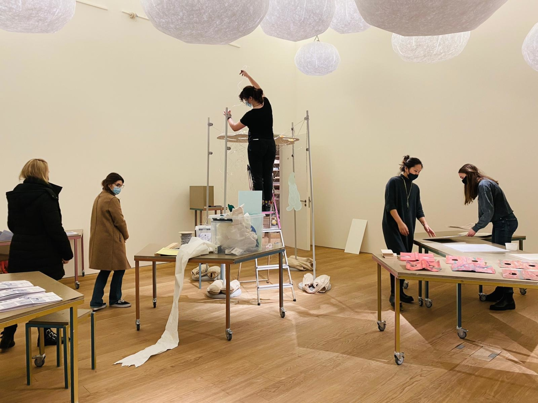 Installation of Mudam x Makerspace Vol. 1, December 2020