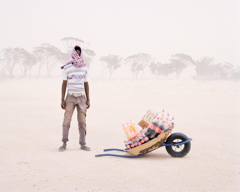 Samuel Gratacap Sans titre 031, série Empire, camp de réfugiés de Choucha, 2012-2014