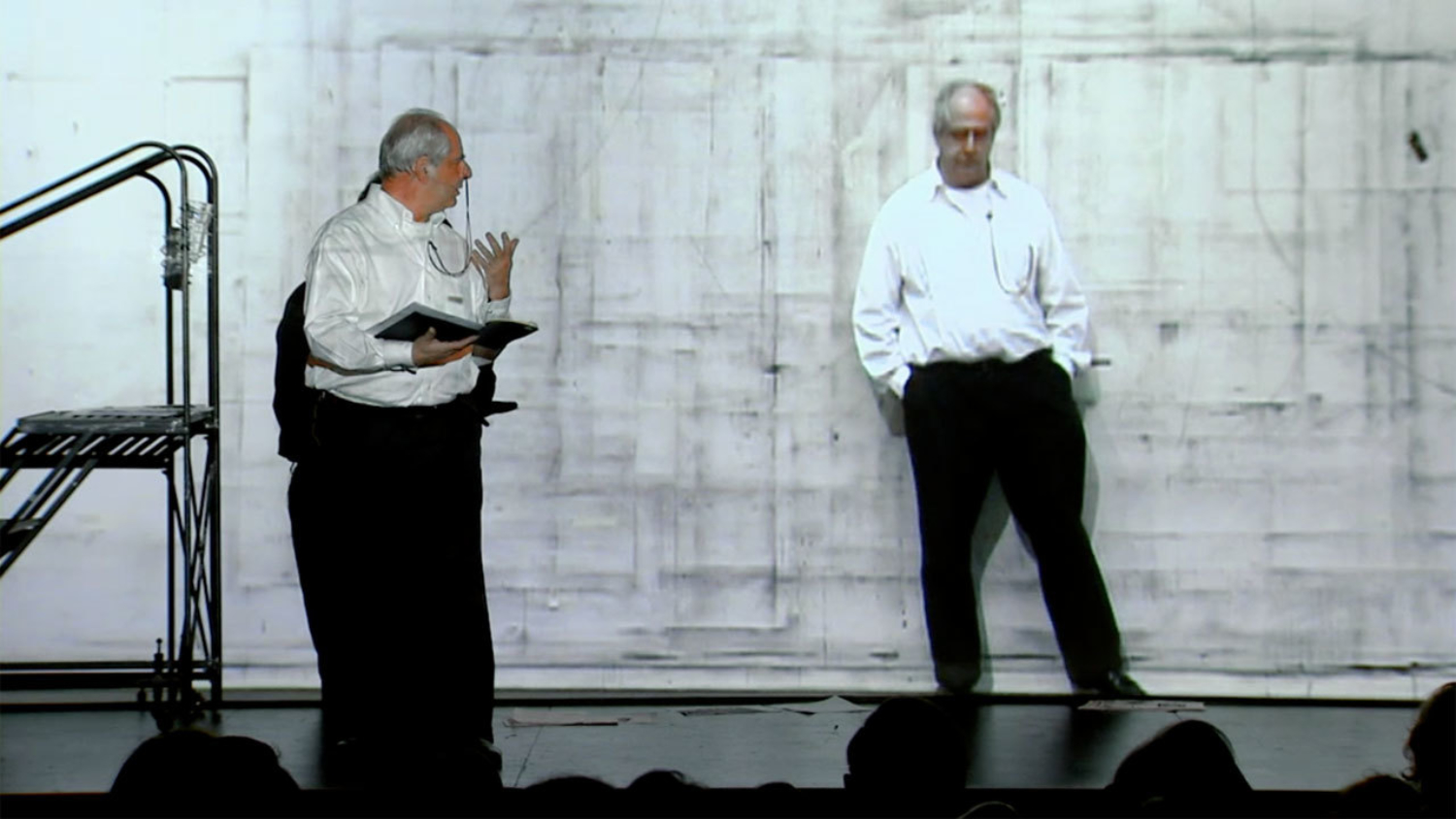 "Production still from ""William Kentridge. Anything Is Possible"", 2010"