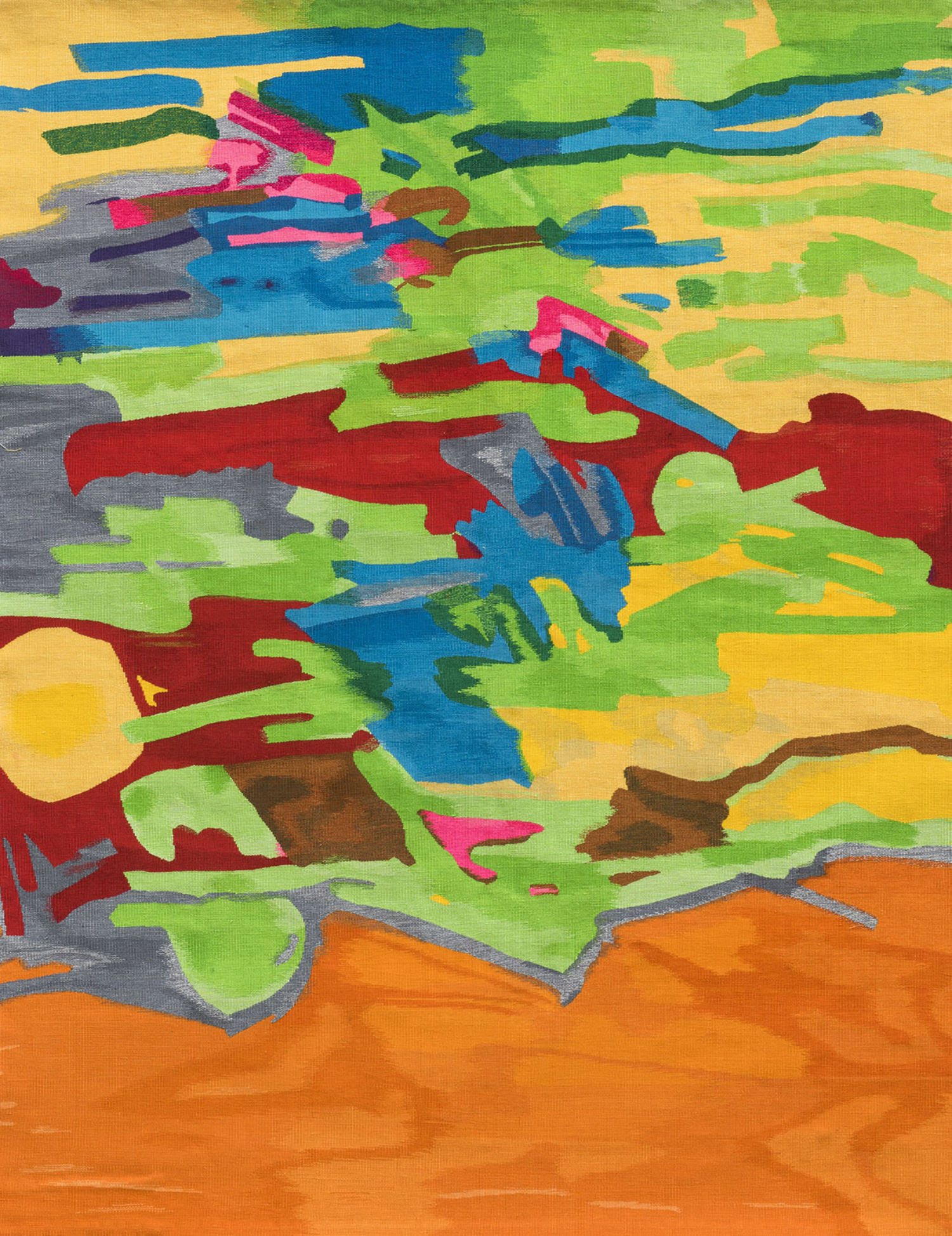 "Etel Adnan. ""Marée Basse"", 1967-73 | 2017"