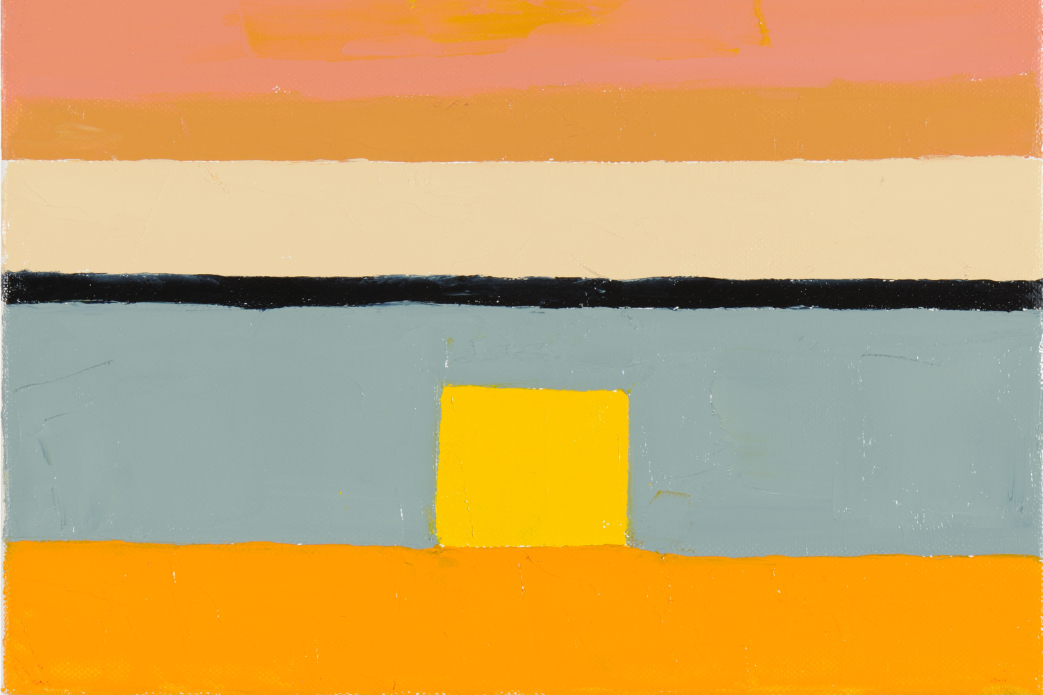 "Etel Adnan, ""Untitled"", 2010. Collection Sfeir-Semler Gallery, Beirut 