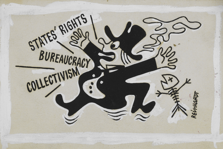 Ad Reinhardt  Untitled, 1943