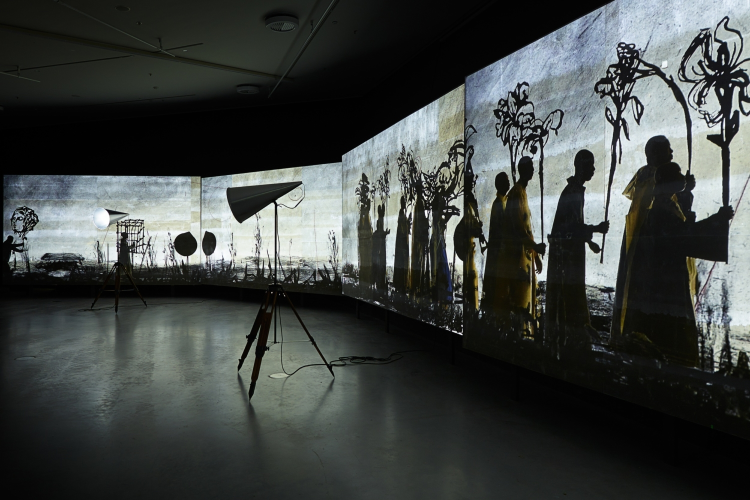"William Kentridge, ""More Sweetly Play the Dance"", 2015"