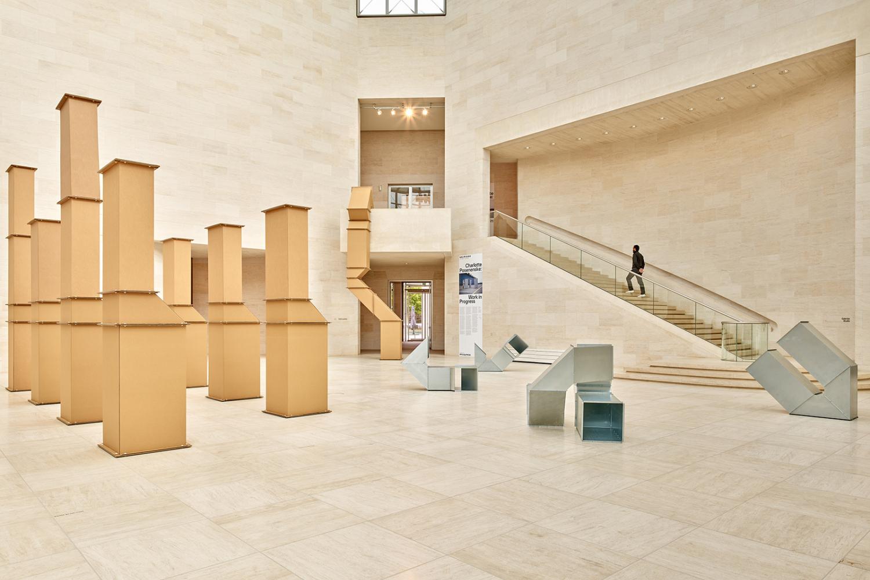 "Vue de l'exposition ""Charlotte Posenenske: Work in Progress"", 10.10.2020 – 10.01.2021, Mudam Luxembourg"