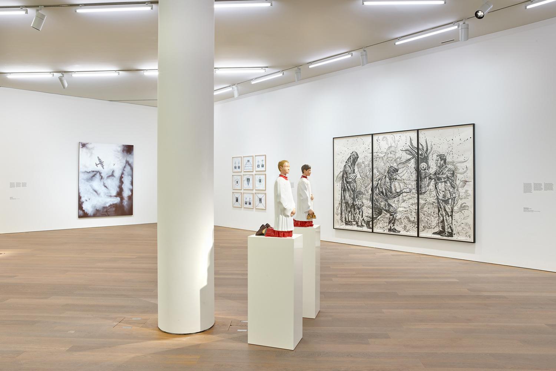 """Vue de l'exposition """"Mudam Collection. Donations et dépôts récents"""", 21.09.2019 – 13.04.2020, Mudam Luxembourg"""