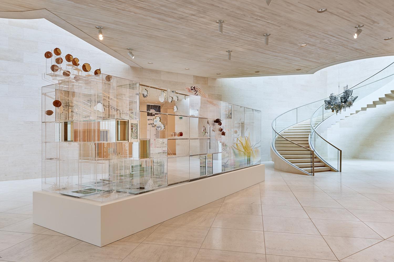 """Vue de l'exposition """"Les 25 ans de la Collection Mudam"""", Mudam Luxembourg, 21.11.2020 – 03.04.2022"""